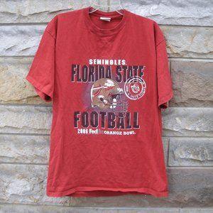 Florida State Seminoles 2006 Orange Bowl T-Shirt